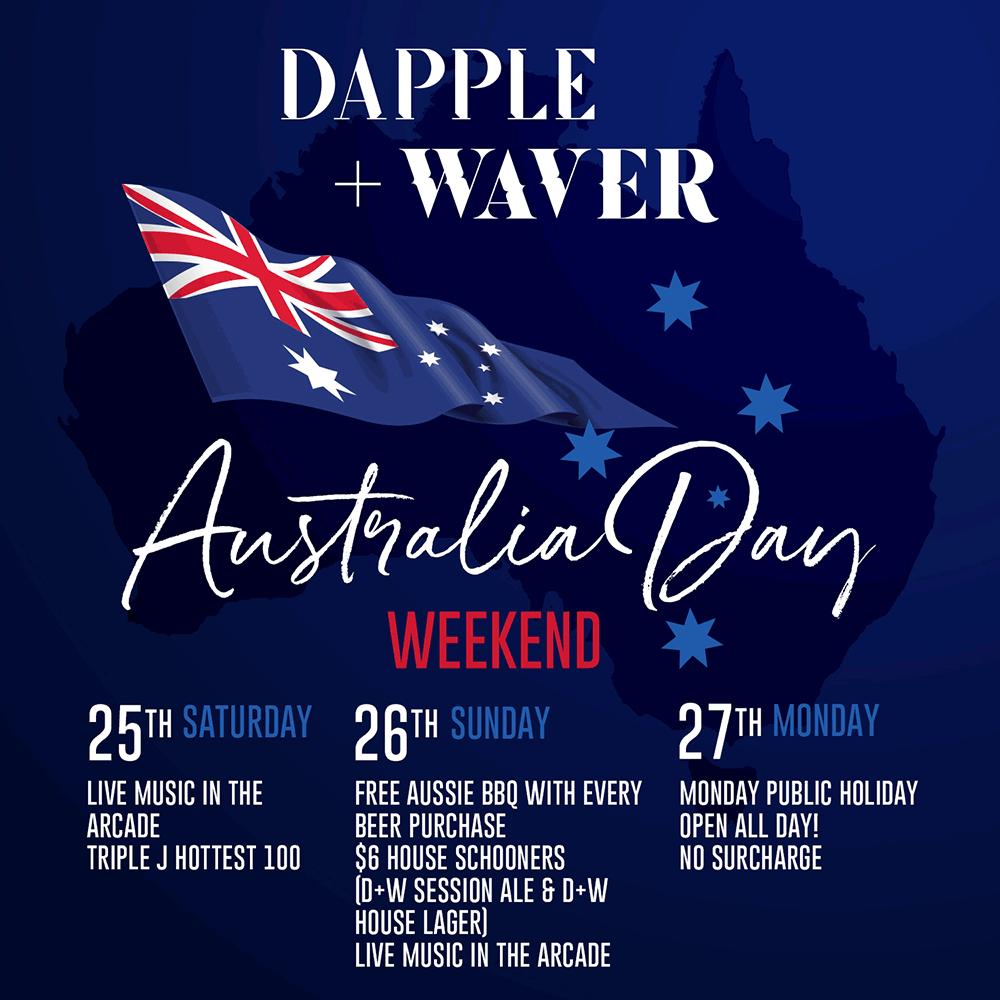 Australia Day Socialsquare Dapple And Waver